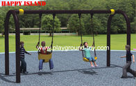 U Fleksibel Flyer swing Set Anak swing Sets Galvanized baja terbuka Anak-anak for sale