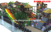 Rumah Playground Equipment Anak Soft Play Centre Indoor Dengan 70 Negara Estat Proyek for sale