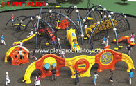 Anak luar Climbing Equipment, Childrens Climbing Equipment Dengan Frames Dan Climbing Keamanan Pagar for sale