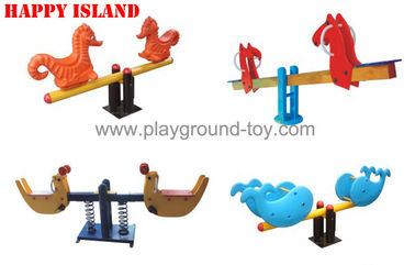 Cina LLDPE Seesaw Playground Equipment, Playground Equipment Seesaw Untuk Anak-Anakon sales